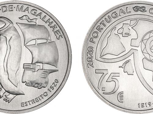 Segunda moneda para la Primera Vuelta al Mundo