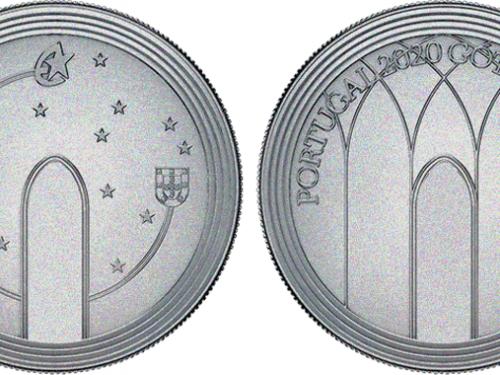 """INCM – 5 euros """"O GÓTICO"""""""