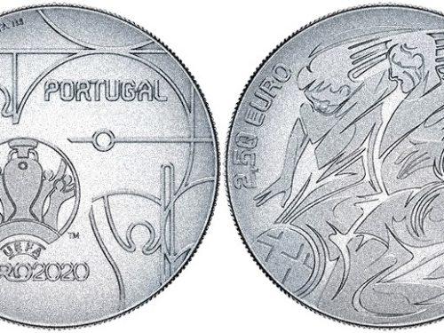 """INCM – 2,5 euros """"UEFA EURO 2020"""""""