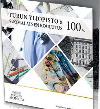"""FINLANDIA 2020 > Set Divisionale 9 monete FDC """"Turun yliopisto & suomalainen koulutus"""" (Università di Turku e istruzione finlandese)"""