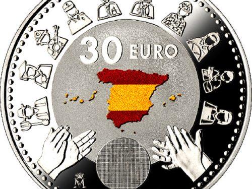 La moneda de 30 euros 2020 ya es una realidad