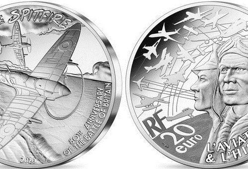 Monnaie de Paris – Spitfire – Piéfort Monnaie de 20€ Argent