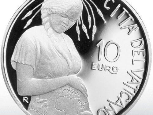 UFN Vaticano – MONETA 10 EURO AG (FS) 2020 50° ANN. G. TERRA