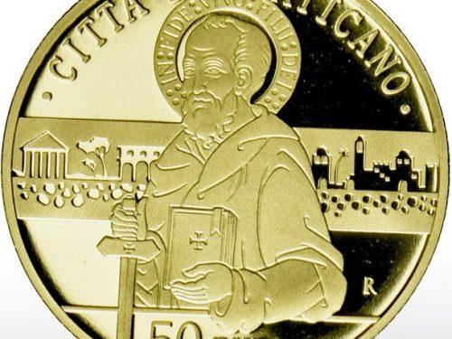 UFN Vaticano – MONETA AUREA 50 EURO – 2020
