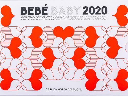 "PORTOGALLO 2020 > Set Divisionale 8 monete FDC 'Bebé Baby"""