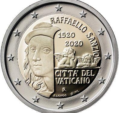 Zweite vatikanische 2-Euro-Gedenkmünze 2020 ausgegeben