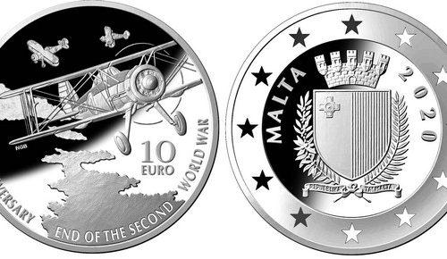 Monete per i 75 anni dalla fine della guerra
