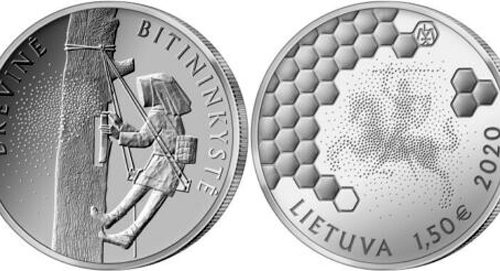 Lithuania 1.5 & 10 euro 2020 – Beekeeping