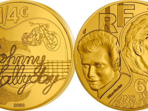 Noël numismatique pour les fans de Johnny Hallyday