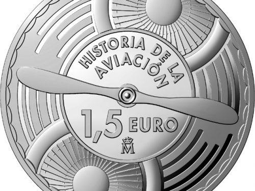 Nueva serie de monedas españolas Historia de la Aviación
