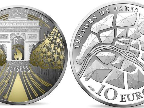 Monnaie de Paris – Champs-Elysées Monnaie de 10€ Argent