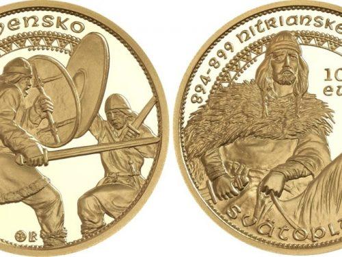 Bella moneda rememora las batallas por la Gran Moravia