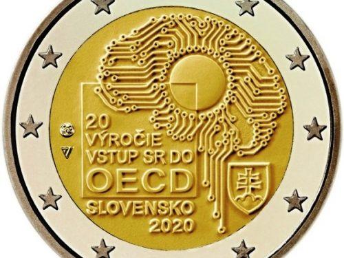 Slovakia 2 euro 2020 – 20 years of Slovakia's accession to the OECD