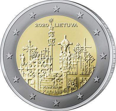 Lithuania 2 euro 2020 – Hill of Crosses