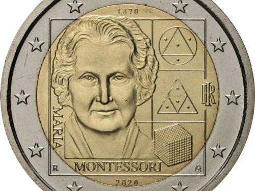 Italy 2 euro 2020 – Maria Montessori