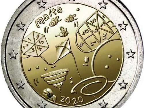 Central Bank of Malta – Traditional games chosen as theme for commemorative €2 coin