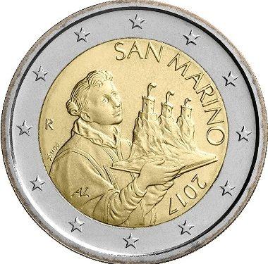 Le monete del programma numismatico 2021 di San Marino