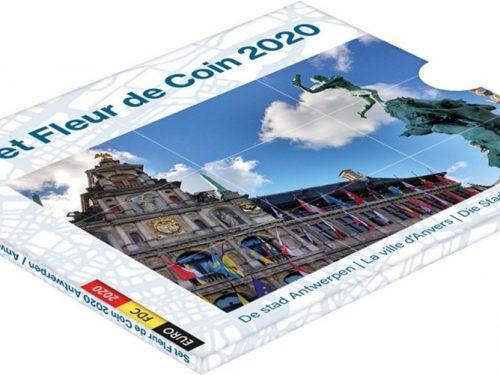 """BELGIO 2020 > Set Divisionale 10 monete FDC """"Antwerpen Anvers Antwerpen"""""""