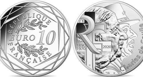 France 10 euro 2020 – Charles de Gaulle