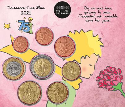 Monnaie de Paris – Mini Set Naissance Fille 2021