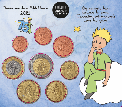 Monnaie de Paris – Mini Set Naissance Garçon 2021