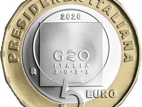 IPZS – 2020 5 euro PRESIDENZA ITALIANA G20