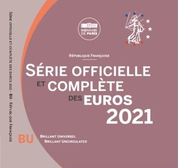 FRANCIA 2021 > Set Divisionale 8 monete FDC