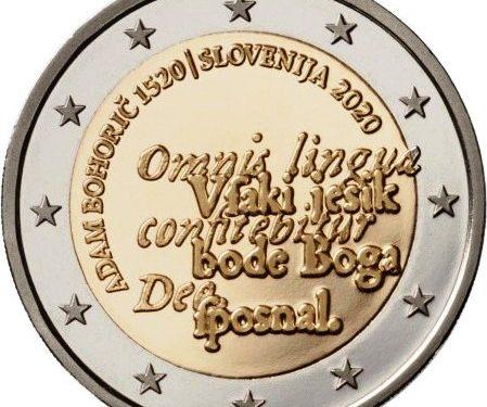 Slowenische 2-Euro-Gedenkmünze 2020 ausgegeben