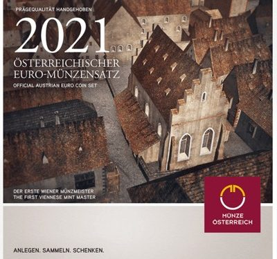 AUSTRIA 2021 > Set Divisionale 8 monete FDC