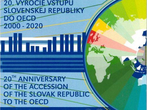 Mint Kremnica – Súbor mincí SR 2020 Vstup SR do OECD- 20.výročie