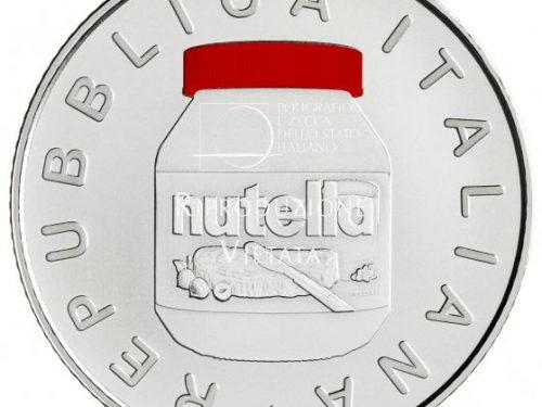 IPZS – 5 euro Serie Eccellenze Italiane – NUTELLA® del Gruppo Ferrero – ROSSA
