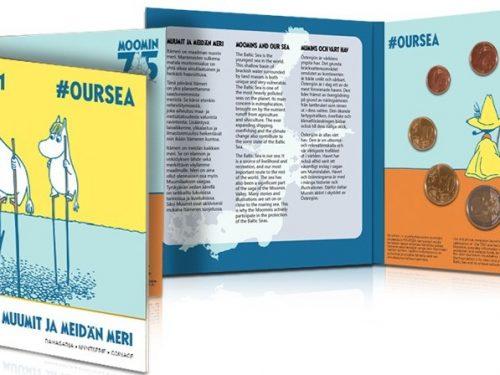 Suomen Moneta – Muumit ja meidän meri – #OURSEA-rahasarja