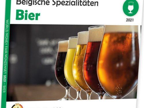 BELGIO 2021 > Set Divisionale 8 monete FDC 'WMF – Berlino'