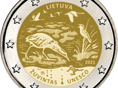 Moneda de 2 euros cc 2021 para una Reserva de la Biosfera