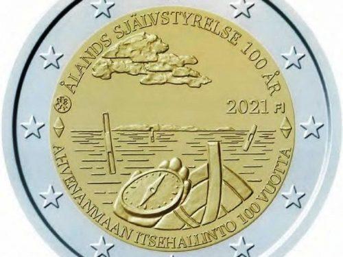 Motiv der zweiten finnischen 2-Euro-Gedenkmünze 2021 bekanntgegeben
